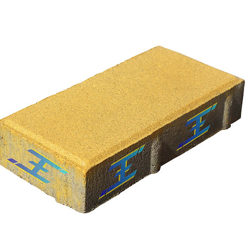 Купить тротуарную плитку КИРПИЧИК 20х10х6 завода ФЭМ ЭРАФЭМ® в Киеве