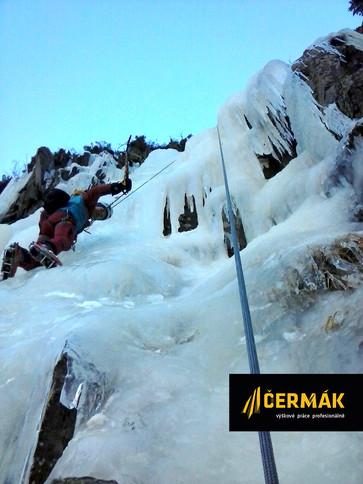 Trénink a relax na ledopádu