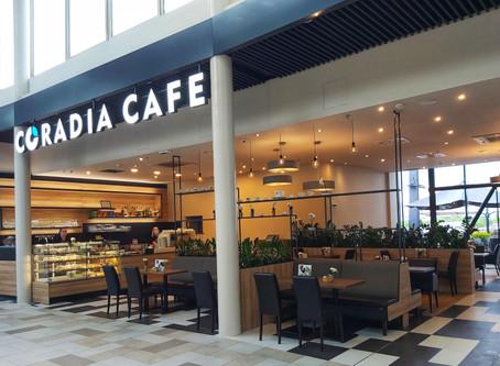 CORADIA CAFE plná světla