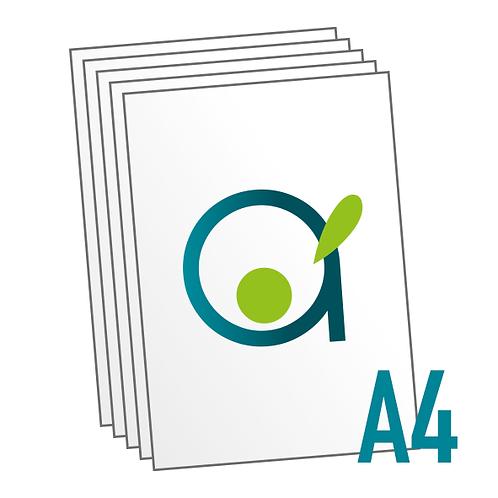 Impression standard A4 en couleurs