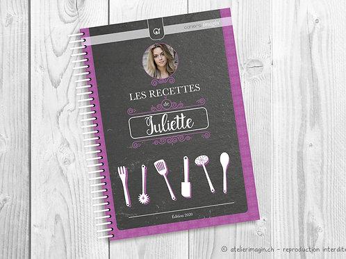 Cahier de recettes - Avec photo