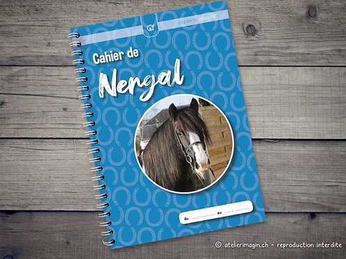 Cahier pour cheval