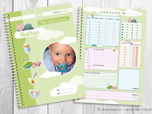 Cahier de suivi pour bébé - Avec photo