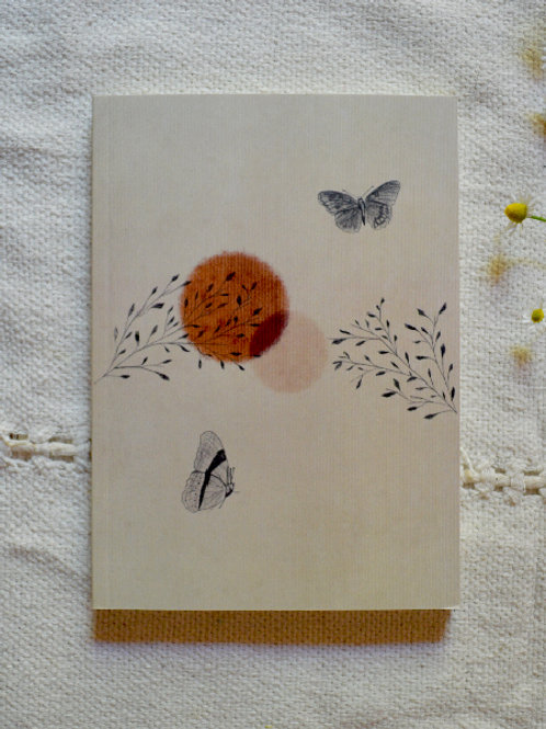 Cuaderno Mariposas