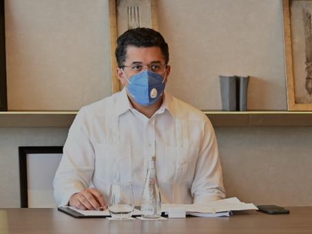 Ministro Collado anuncia para el 15 de septiembre inicio Plan Recuperación Responsable del Turismo a