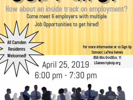 Tired of Job Fairs? 04-26-2019