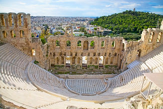 Greece - Athens - Acropolis - Theater -
