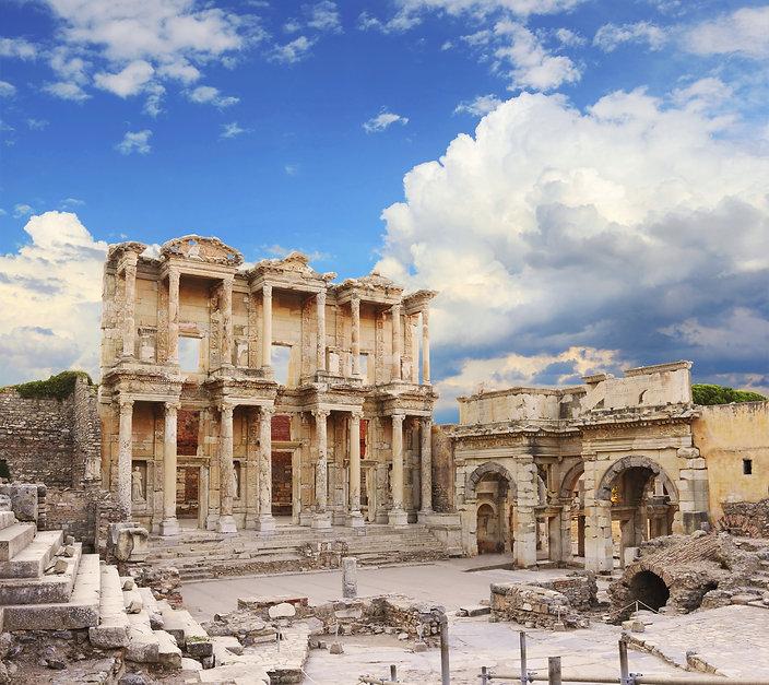 Turkey - Ephesus - Library of Celsus - 5