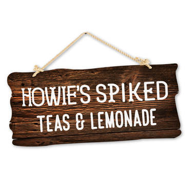 Howies Wood Sign