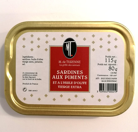 SARDINES WITH PEPPERS