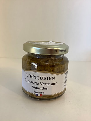 GREEN OLIVE AND ALMOND TAPENADE 100g