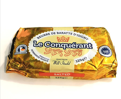 FRENCH BUTTER SALTED 125G