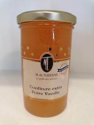 PEAR JAM WITH VANILLA 320G