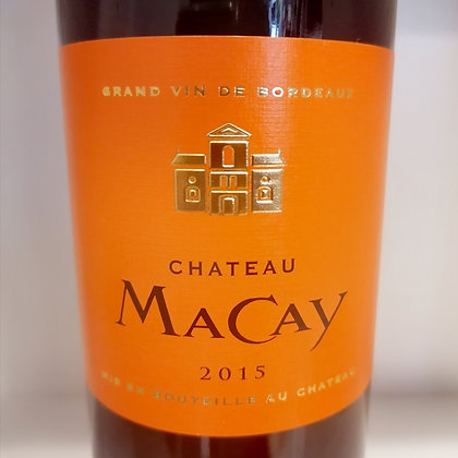 Chateau Macay Rouge 2015