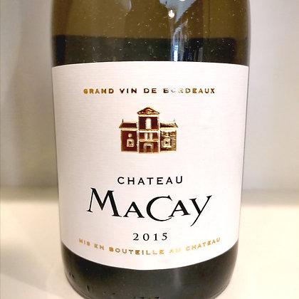 Chateau Macay Blanc 2015