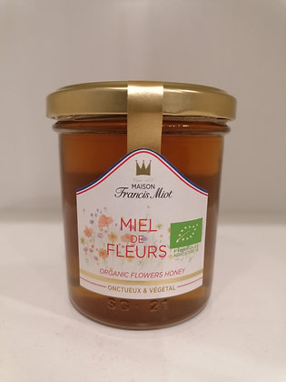 ORGANIC FLOWER HONEY 250G MIOT