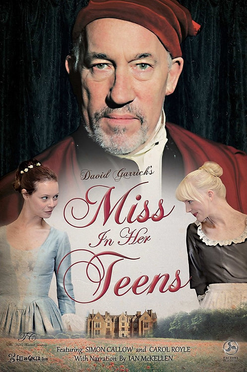Miss In Her Teens DVD - Signed