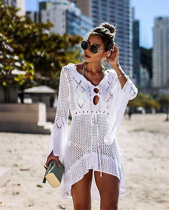 stylish beach cover-up