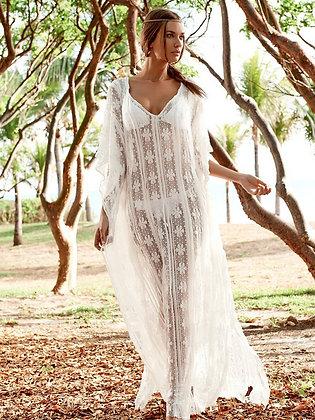 stylish lace kaftan
