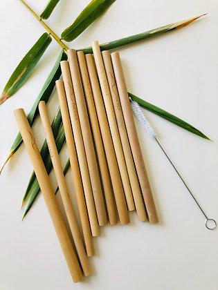 eco-friendly bamboo straws