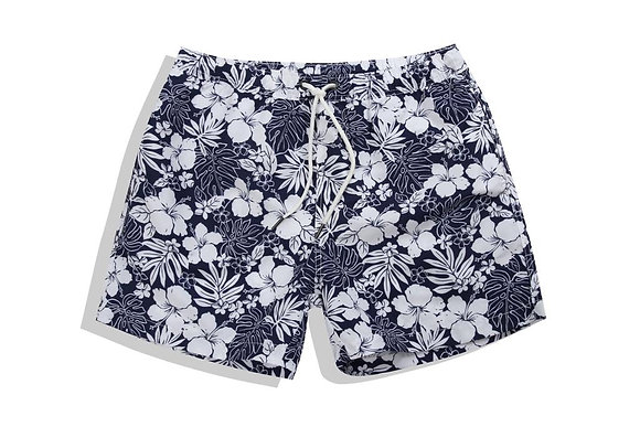 Men's Floral Print Trunks