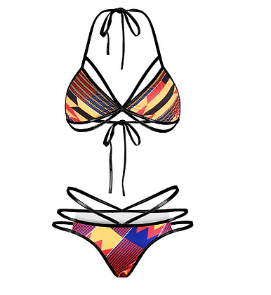 tribal string bikini