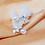 Thumbnail: Drop freshwater pearl earrings
