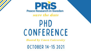 Varieties of Peace at the Swedish Peace and Conflict PhD student conference