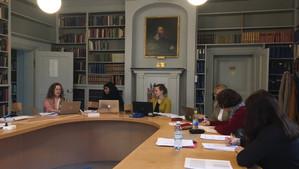Workshop for relational peace volume held in Uppsala