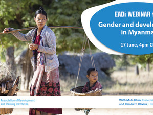 Join EADI's Myanmar webinars on 17 and 22 June