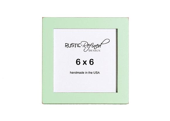 "6x6 1"" Gallery Picture Frame - Sea Foam"