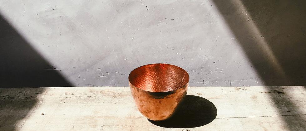 bowl de cobre martillado