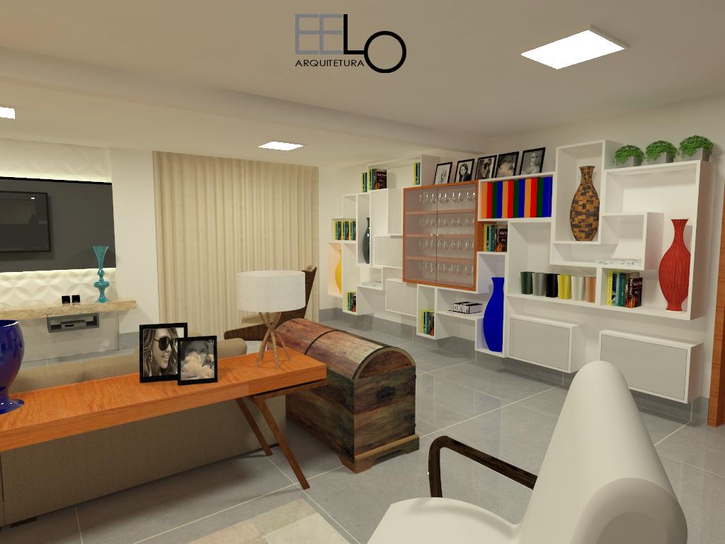 Sala estar/ Home/ Cozinha