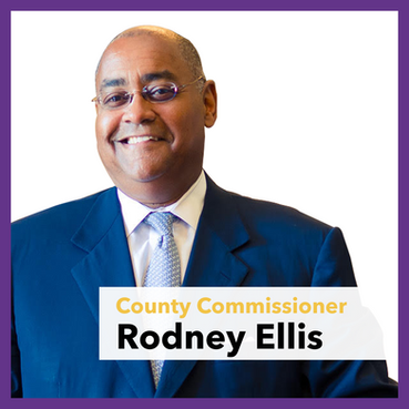 County Commissioner Rodney Ellis