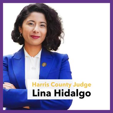 Harris County Judge Lina Hidalgo