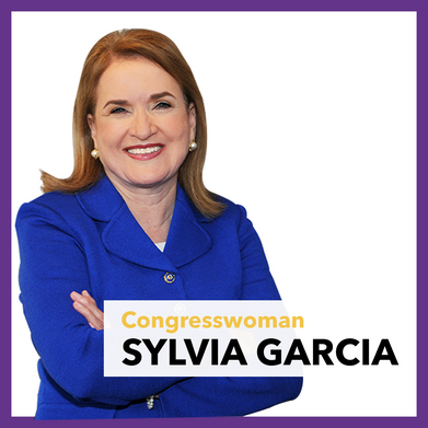 Congress Woman Sylvia Garcia