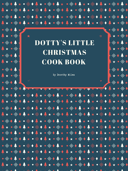 Dotty's Little Christmas Cook Book