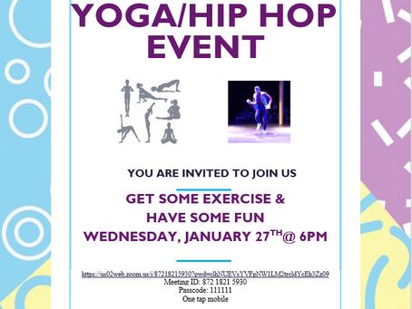 Yoga Hip Hop - Welcome Wednesdays
