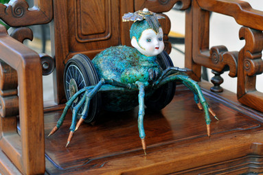 Arachne Queen of the Spider Babies - SOLD