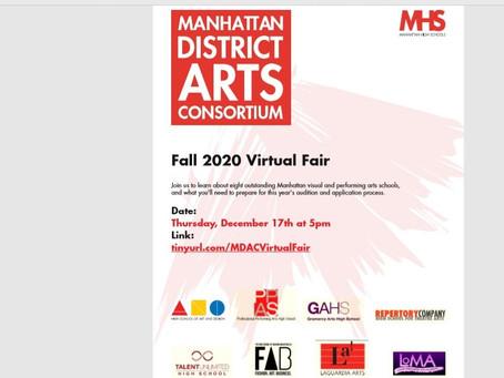 Manhattan District Arts Consortium Virtual Fair