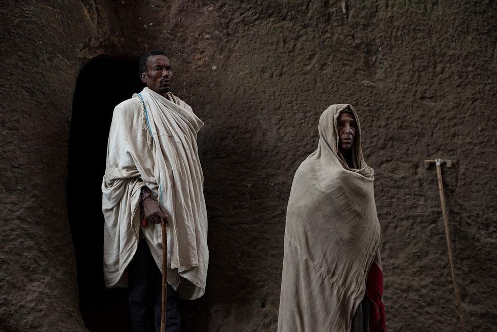 ETHIOPIE - LALIBELA INTEMPORELLE - PELER