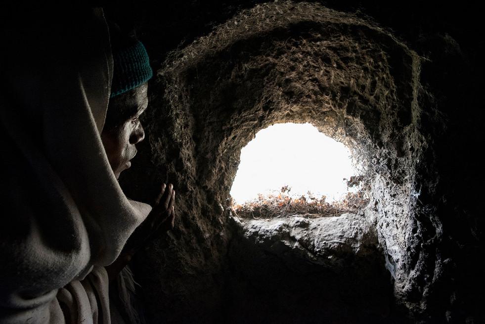 ETHIOPIE - LALIBELA INTEMPORELLE - MONAS