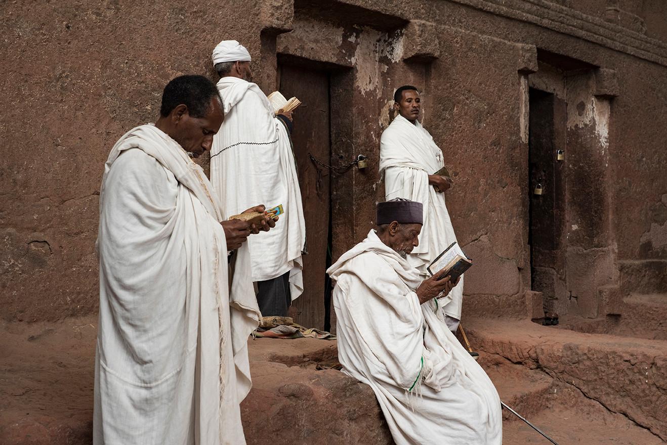 ETHIOPIE - LALIBELA INTEMPORELLE - GROUP