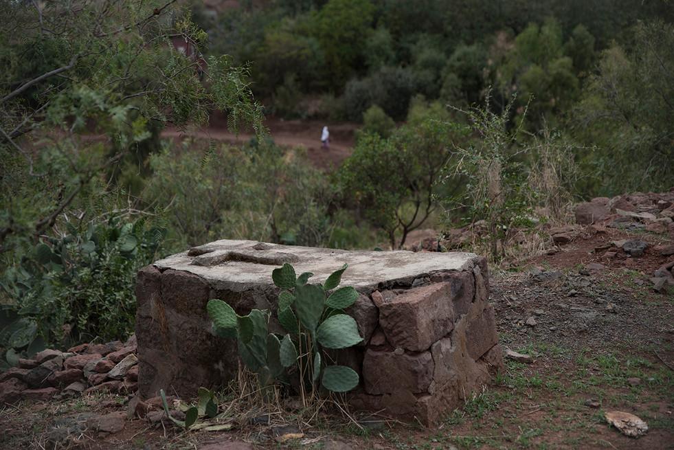 ETHIOPIE - LALIBELA INTEMPORELLE - TOMBE