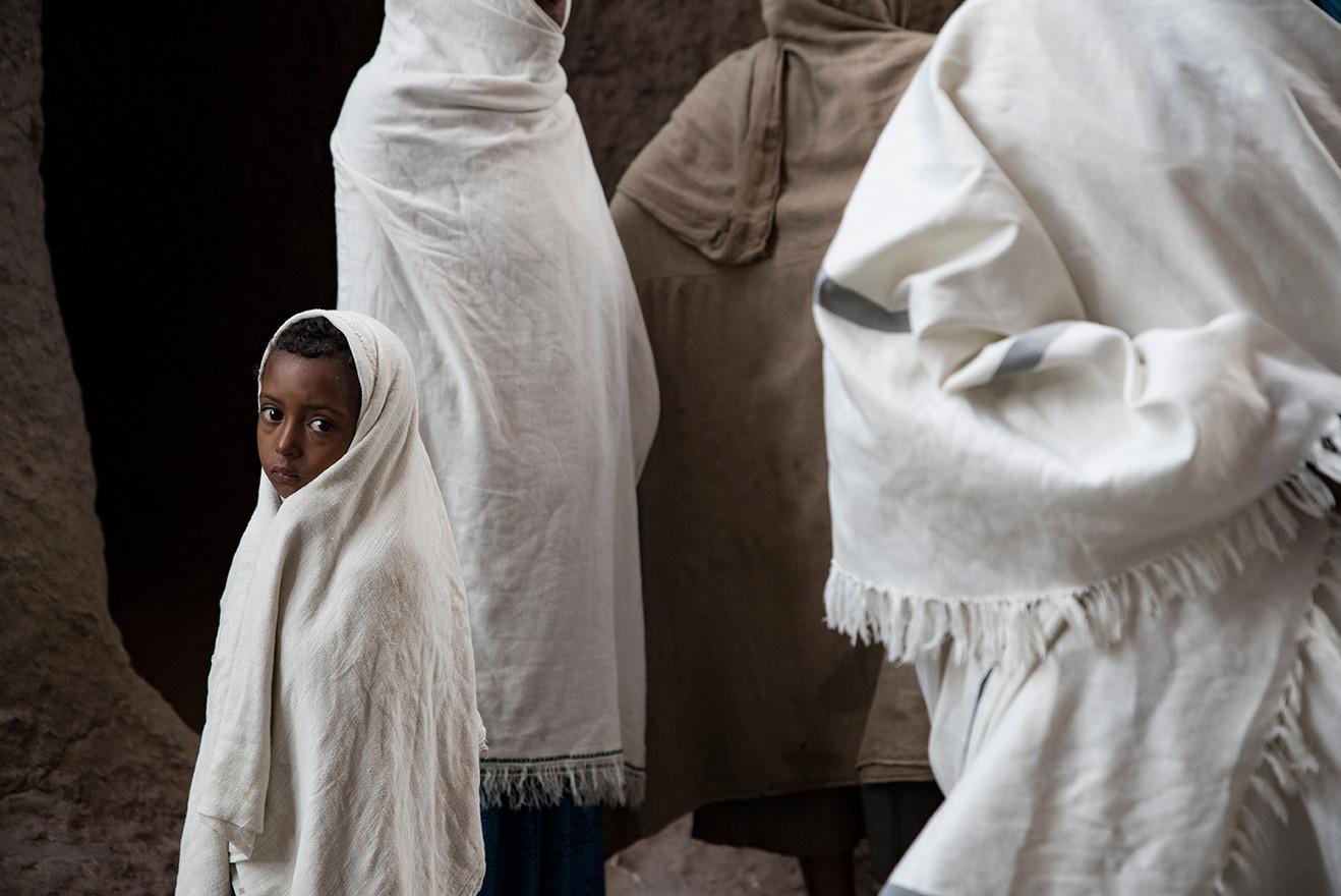 ETHIOPIE - LALIBELA INTEMPORELLE - CHALE