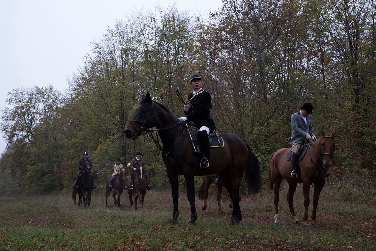 FRANCE - LA CHASSE A COURRE - EQUIPAGE D