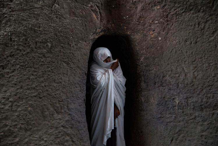 ETHIOPIE - LALIBELA INTEMPORELLE - POTRA