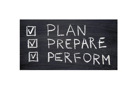 The Power of Preparation - 6 Ideas to Ponder