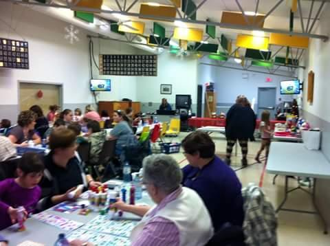 Family Bingo Christmas 2015