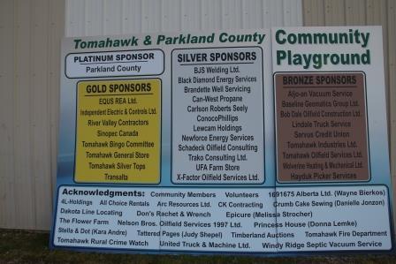 Playground Sponsors